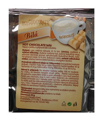 Hot Chocolate bílá 30g