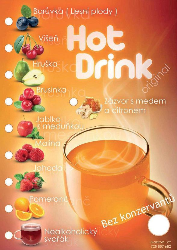 HOT DRINK - Jahoda 23g