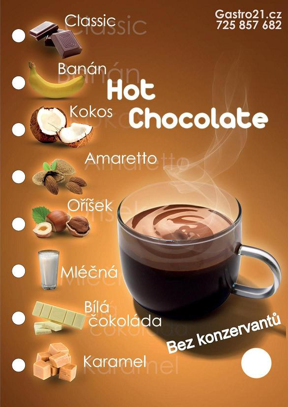 HOT CHOCOLATE Original - Mléčná 30g