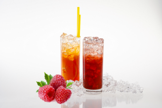 Ice drink-malina